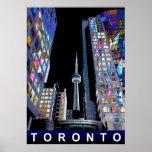 Toronto in graffiti poster