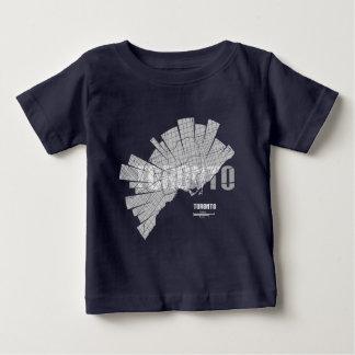 Toronto Map Baby T-Shirt
