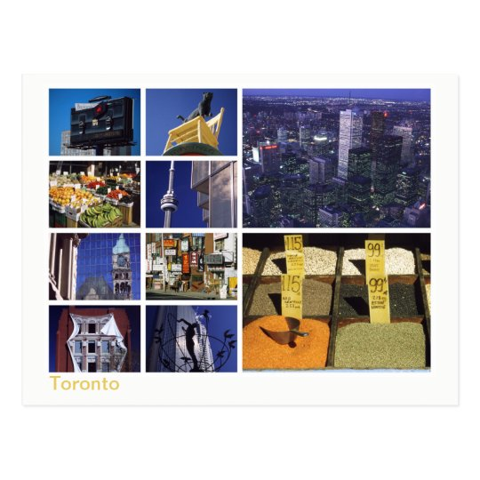 Toronto multi-image postcard