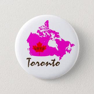 Toronto Ontario Customize Canada pin button