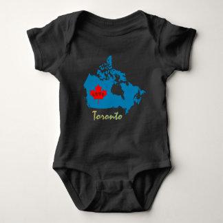 Toronto Ontario Customize Canada province Baby Bodysuit