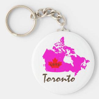Toronto Ontario Customize Canada province keychain
