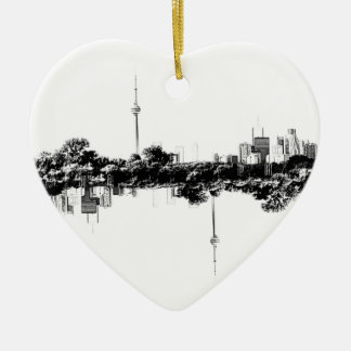 Toronto Reflection Christmas Ornament