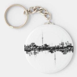 Toronto Reflection Key Ring