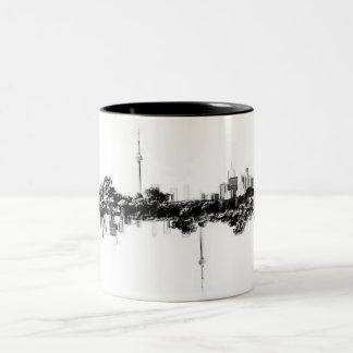 Toronto Reflection Two-Tone Coffee Mug