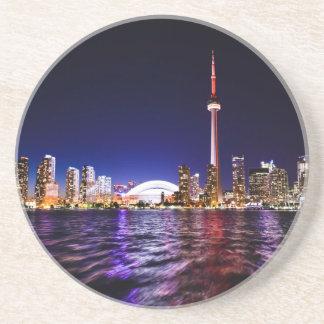 Toronto Skyline at Night Coaster