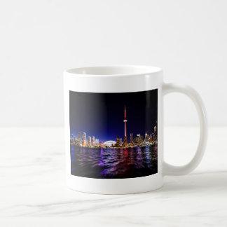 Toronto Skyline at Night Coffee Mug