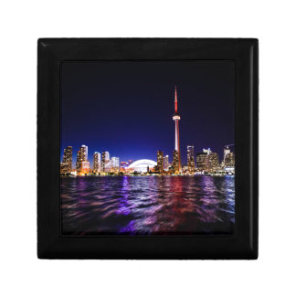 Toronto Skyline at Night Gift Box