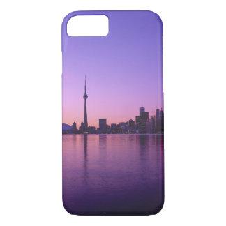 Toronto Skyline at night, Ontario, Canada iPhone 7 Case