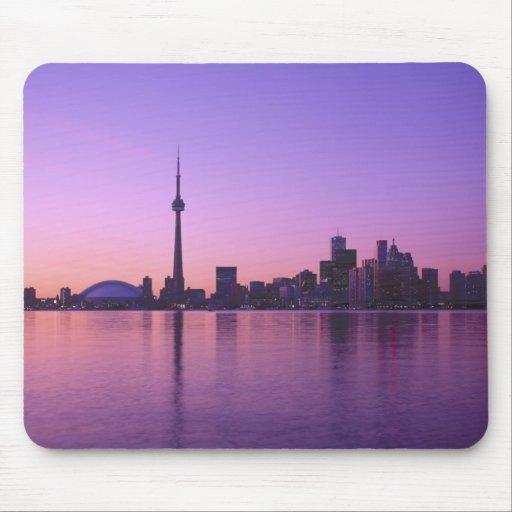 Toronto Skyline at night, Ontario, Canada Mouse Pad