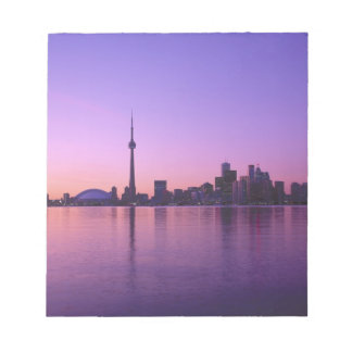 Toronto Skyline at night, Ontario, Canada Notepad