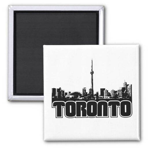 Toronto Skyline Fridge Magnet