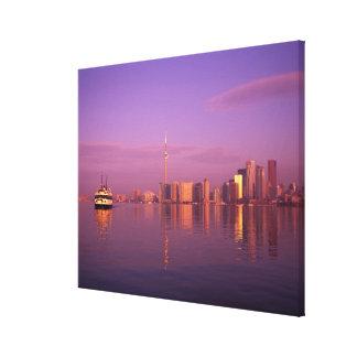 Toronto Skyline, Ontario, Canada Canvas Print