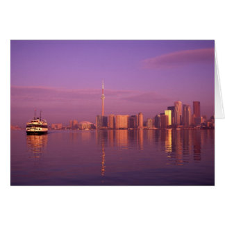 Toronto Skyline, Ontario, Canada Card