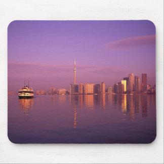 Toronto Skyline Ontario Canada Mouse Pads