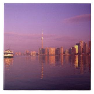 Toronto Skyline, Ontario, Canada Tile