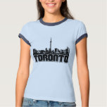 Toronto Skyline Tee Shirts