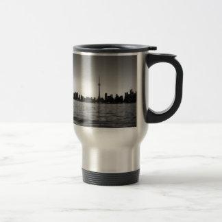 Toronto skyline travel mug