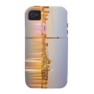 Toronto Skyline Vibe iPhone 4 Cases