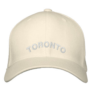 Toronto Souvenir Baseball Cap Embroidered Cap