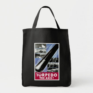 Torpedo The Axis Grocery Tote Bag