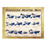 Torpedoed Hospital Ships in WWI Post Cards