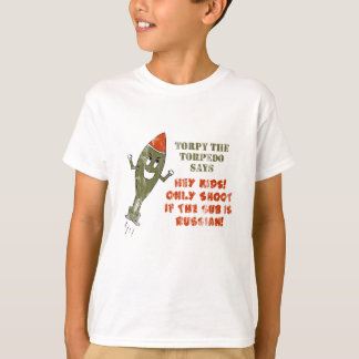 Torpy the Torpedo - Retro T-Shirt