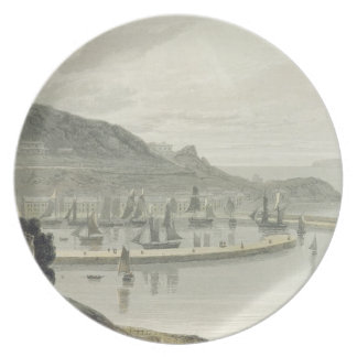 Torquay, Devon, from Volume VIII of 'A Voyage Arou Plate