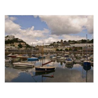 Torquay Harbour Post Card