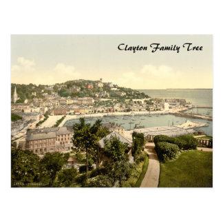 Torquay II Devon England Post Card