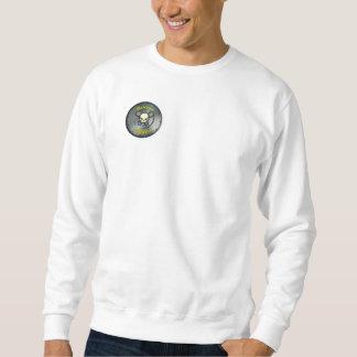 Torque addict skull pull over sweatshirt