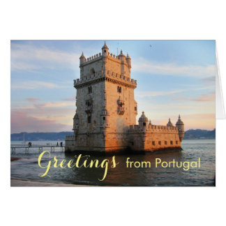 Torre de Belém - Belem Tower portugal Card