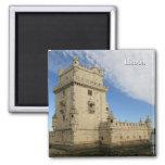 """""""Torre de Belem, Lisboa"""" magnet"""