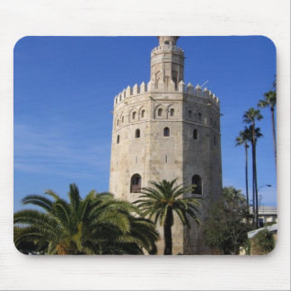 Torre Del Oro Mouse Pad