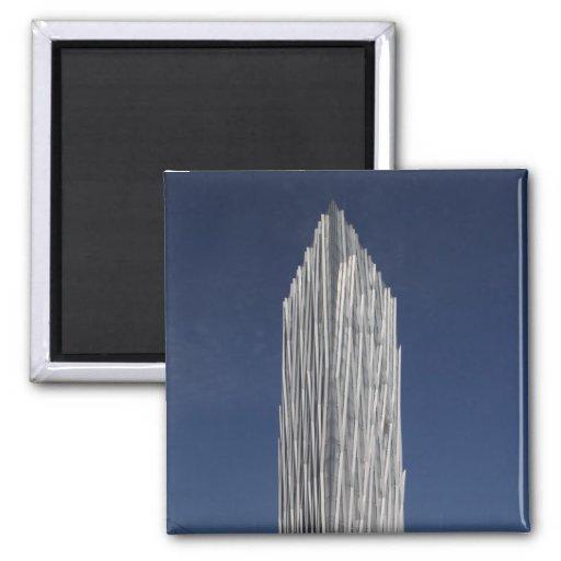 Torre Diagonal 00 Fridge Magnet