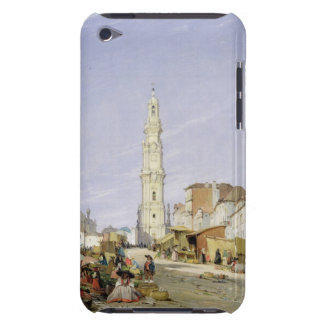 Torre dos Clerigos, Oporto, Portugal, 1837 (oil on iPod Case-Mate Cases