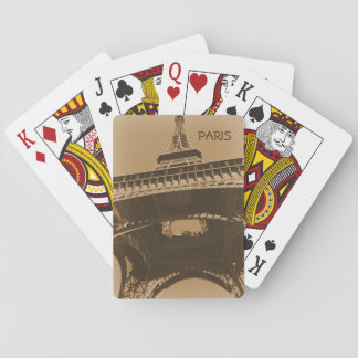 Torre Eiffel Playing Cards
