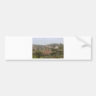 Torremolinos View Range - Spain Bumper Sticker
