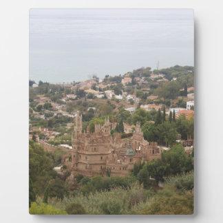Torremolinos View Range - Spain Display Plaque