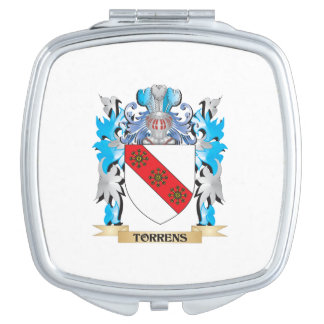 Torrens Coat of Arms - Family Crest Travel Mirror