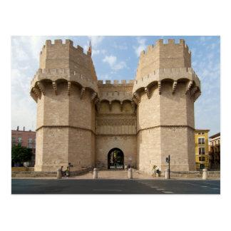 Torres de Serranos Postcard