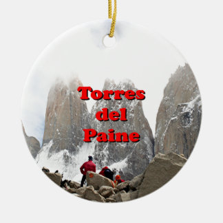 Torres del Paine: Chile Christmas Ornament