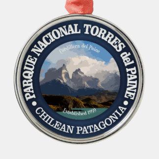 Torres del Paine National Park Christmas Ornament