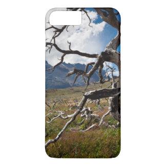 Torres del Paine National Park, fire damaged trees iPhone 8 Plus/7 Plus Case