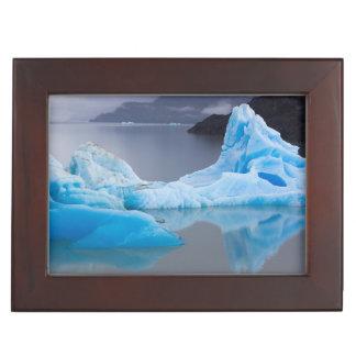 Torres del Paine National Park, Glacial ice Keepsake Box