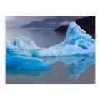 Torres del Paine National Park, Glacial ice Postcard