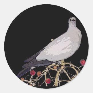 Torresian Imperial Pigeon Round Sticker