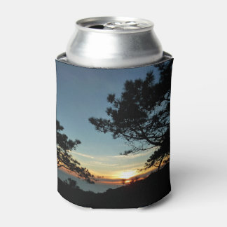 Torrey Pine Sunset III California Landscape Can Cooler