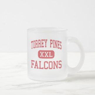 Torrey Pines - Falcons - High - Encinitas Frosted Glass Mug