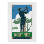 Torrey Pines Golf Course poster